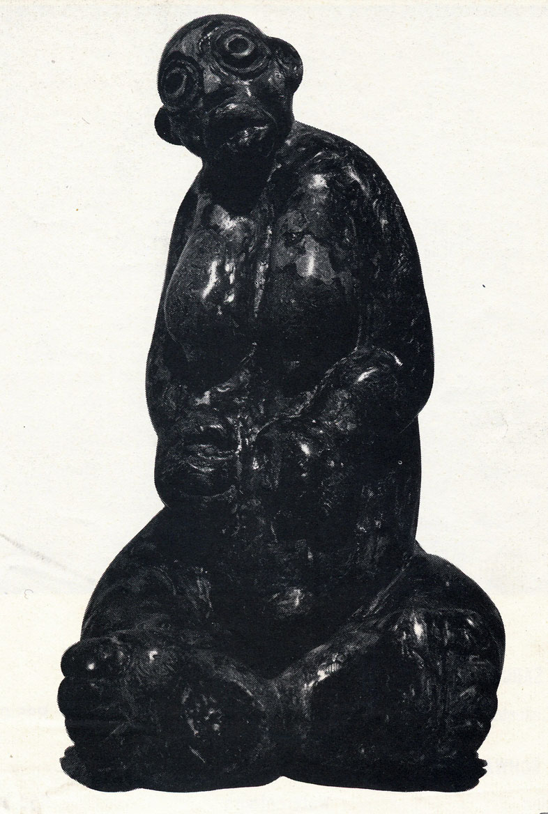 "LS6505 Lucas Sithole ""Expectant Mother"" 1965 Ironwood (meas. n/a)"