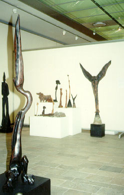 Lucas SITHOLE LS7909 with various unfinished works donated from the SITHOLE Estate in 1994